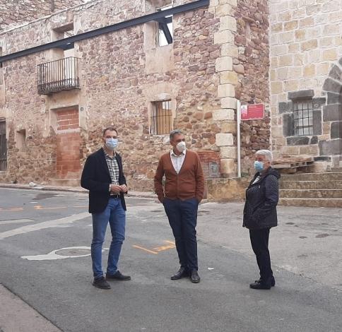 La Diputación inyecta 336 mil euros en la renovación y construcción de infraestructuras en Soneja y Almedíjar