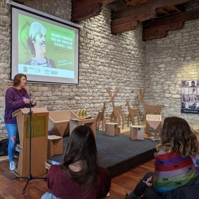 Patricia Puerta reivindica el papel del feminismo en el futuro del interior en la clausura de la Escola de la Tardor de Morella