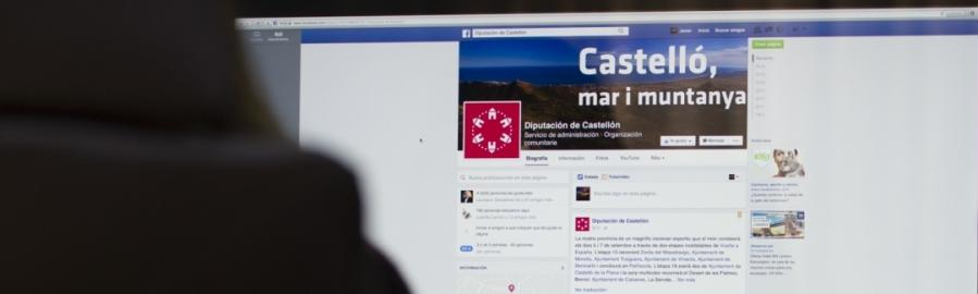 La Diputació obri  la seua gestió a través de les xarxes socials