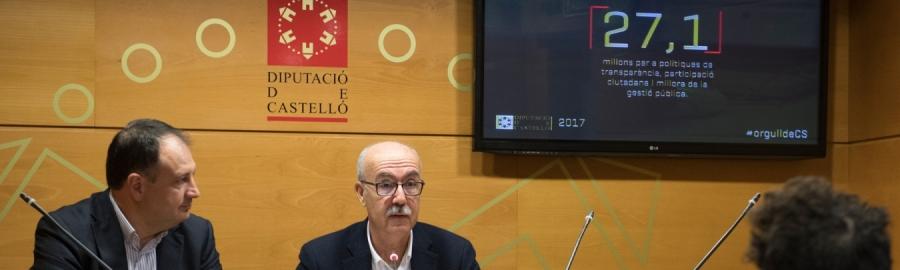 Diputación presta ya más de 24.000 servicios a los 135 municipios