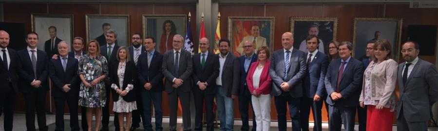 La província acollirà el setembre la Comissió de Diputacions de la FEMP