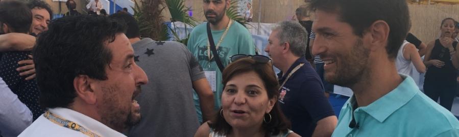 """Moliner: """"El Arenal ayuda a promocionar la provincia en el mercado nacional"""""""