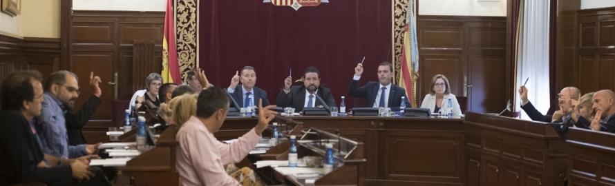 La Diputación de Castellón reclama un gran Pacto Nacional por la regeneración