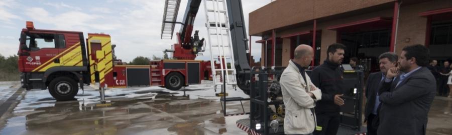 La Diputación prepara el dispositivo de prevención ante fuertes lluvias