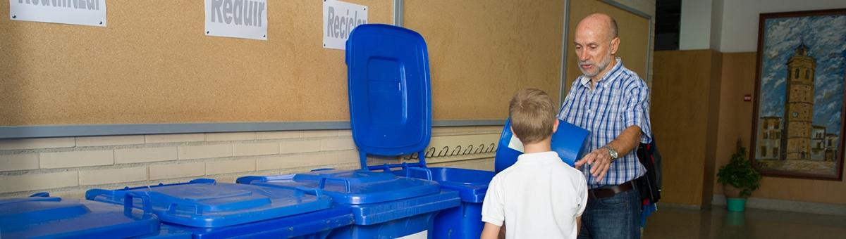 La Diputación fomenta el reciclaje con la campaña escolar 'Recuperem a l´escola'