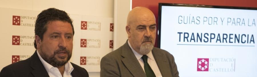 El Consejo Nacional de Transparencia avala la apuesta de la Diputación en transparencia