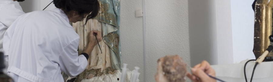 La Diputación recupera la imagen de la Inmaculada Concepción de Sant Joan de Moró