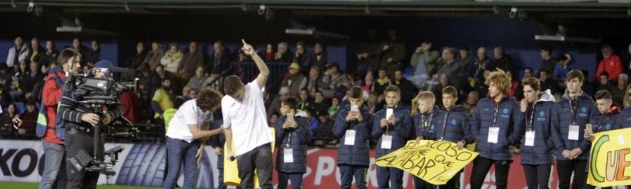 La Diputació i el Villarreal contra l'assetjament escolar