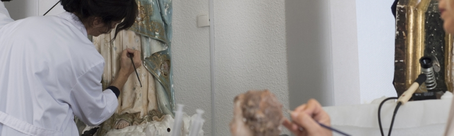 La Diputación restaura 141 obras de arte de 20 municipios