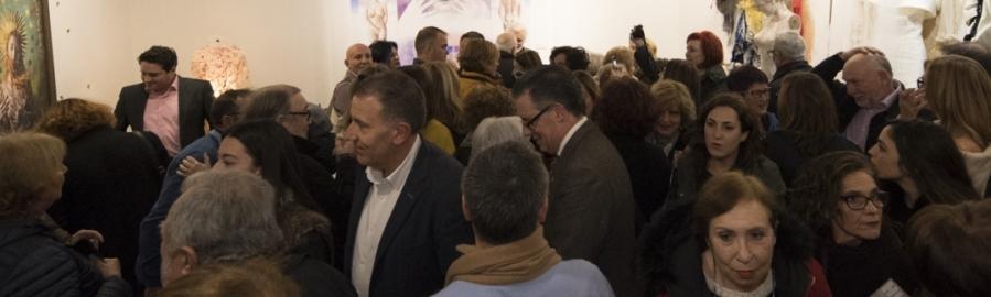 La exposición 'Higinio Mateu. Del Diseño al Arte' registra ya medio millar de visitas