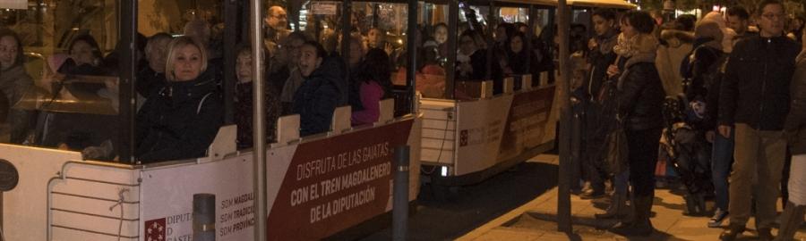 Los Trenes Magdaleneros de la Diputación registran una excelente acogida