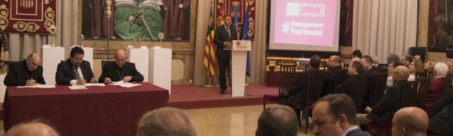 La Diputación abandera el cuidado del patrimonio sacro de la provincia