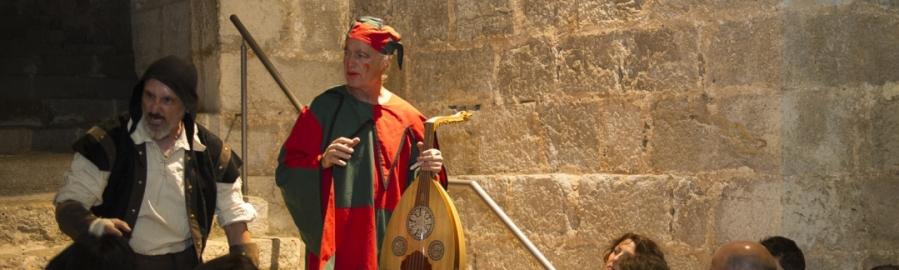 Actividades culturales en el Castillo de Peñíscola en Semana Santa