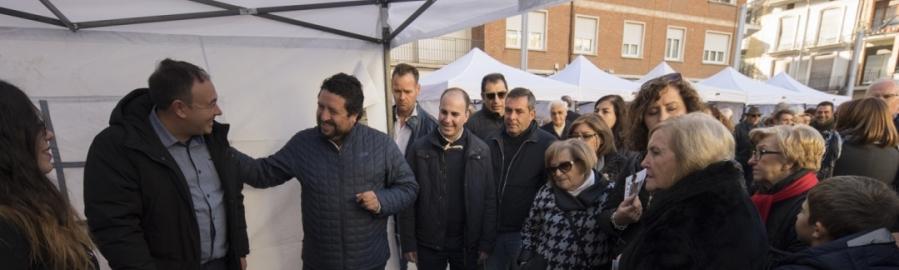 La Diputación fomentará la celebración de más ferias de producto en los pueblos