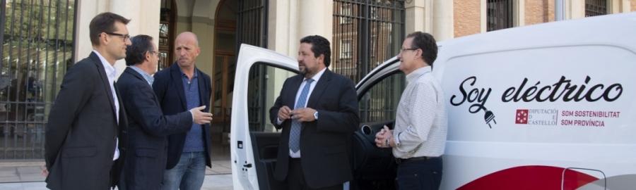 La Diputació promou la introducció del vehicle elèctric a la província
