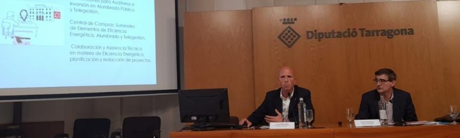 La Diputación expone su Plan de Eficiencia Energética  en Tarragona