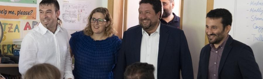 Moliner y Marzà anuncian el Bachillerato en Benassal