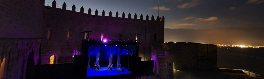 El Festival de Teatre Clàssic de Peníscola comença la recta final amb 'Commedia'