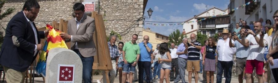 Moliner inaugura la nueva carretera a Xiva de Morella