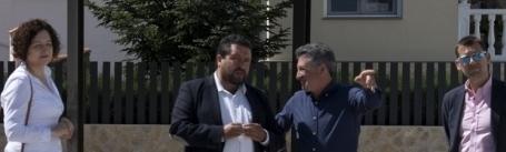 Els Ibarsos disposa d'una nova plaça per als vianants finançada per la Diputació