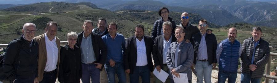 Moliner reúne al Gobierno Provincial en Culla para diseñar la estrategia para el 2019