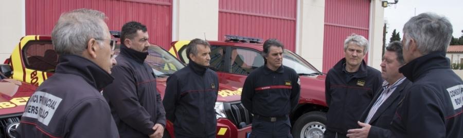 Diputación actualiza medios e información en su dispositivo provincial de emergencias