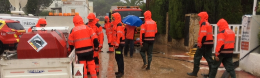 Diputació donarà ajudes perquè els ajuntaments puguen pagar els danys generats per les pluges