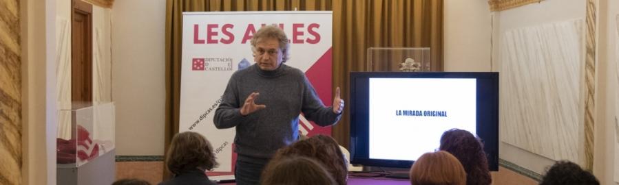 La Diputació enriqueix la vida cultural de Castelló con Fernando Roldán en l'ECO de les Aules