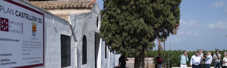 La Diputación destina 856.946 euros a la mejora de los cementerios de los municipios de la provincia