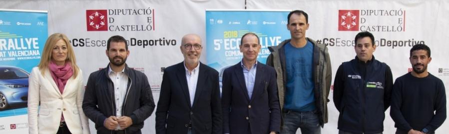 Diputació impulsa el V EcoRallye Comunitat Valenciana com a part de Castelló Escenari Esportiu