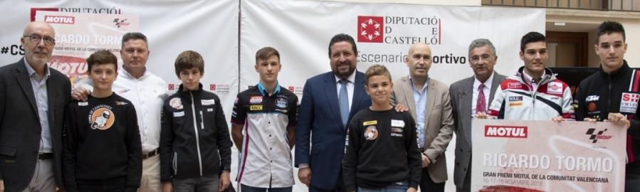 Diputación impulsa el talento de los jóvenes pilotos castellonenses con 'Cuna de Campeones'