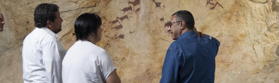 Diputación impulsa el potencial turístico del arte rupestre de la Valltorta