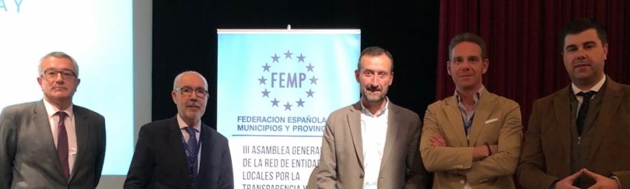 Diputación avanza en la Transparencia con una publicación especializada nacional