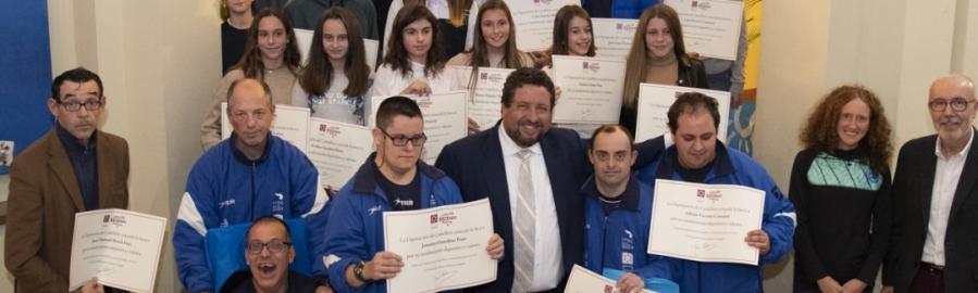Laia Cañes ensalza la promoción deportiva del Gobierno Provincial