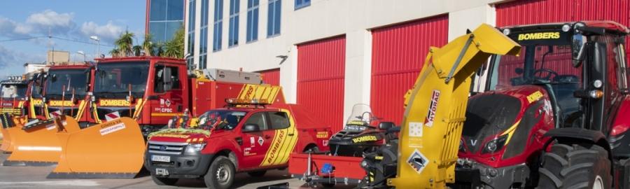 El Consorcio Provincial de Bomberos incorpora nuevos vehículos especializados