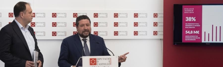 Diputación comienza el año a deuda cero por primera vez en su historia