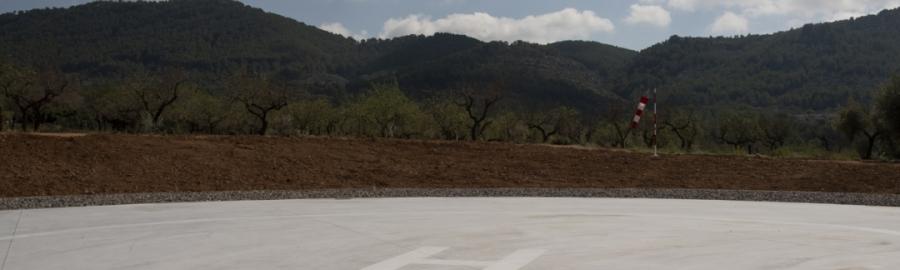 La Diputación amplia la red provincial de helisuperficies para la evacuación médica urgente