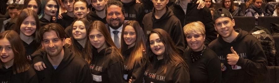 Diputación lidera la lucha contra la violencia con más de 4.000 estudiantes