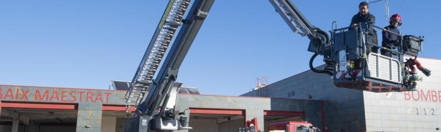 El Consorcio Provincial de Bomberos renueva con un vehículo para rescates en altura