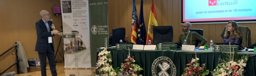Diputació exposa 'Castelló Escenari Esportiu' en un Congrés Internacional