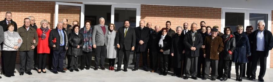 Moliner inaugura el Centro de Mayores de Albocàsser