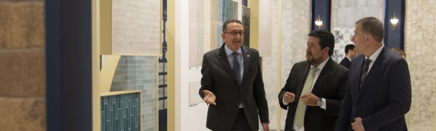 Diputación concluye su participación en Cevisama