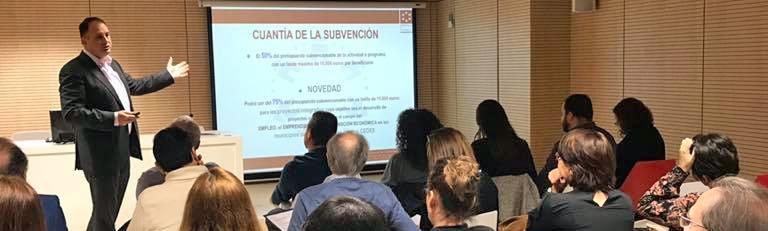 Diputación despierta el interés de 12 colectivos para desarrollar proyectos innovadores