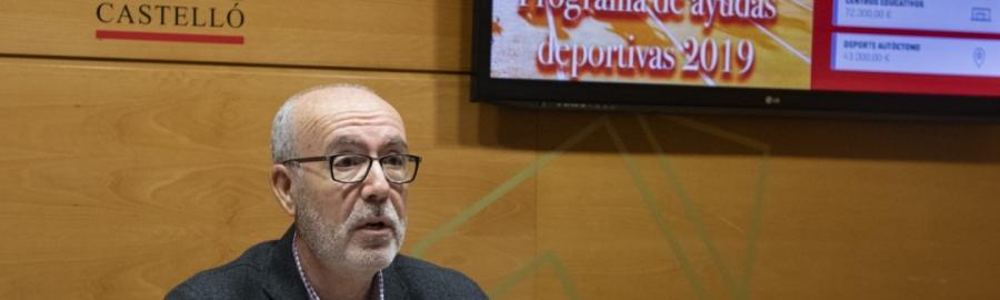 Diputació eleva a la xifra històrica de 2,9 milions d'euros les seues ajudes