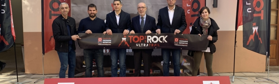 Diputación incorpora el innovador ultratrail por etapas 'Top of the Rock'