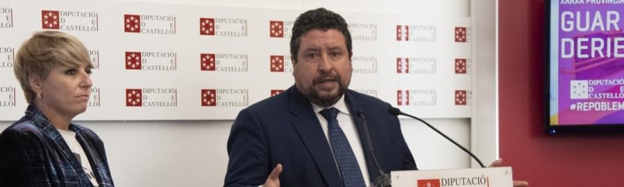 Diputación incorpora una Red Provincial de Guardería