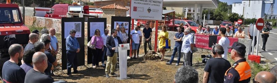 Diputación adjudica las obras del nuevo Parque de Bomberos Voluntarios