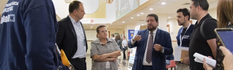 Diputación y la Cámara de Comercio adelantarán la celebración del V Work Forum