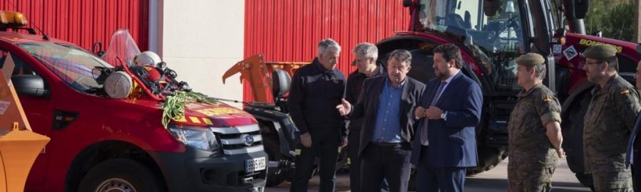 El Consorcio Provincial de Bomberos de la Diputación incorpora nuevos vehículos