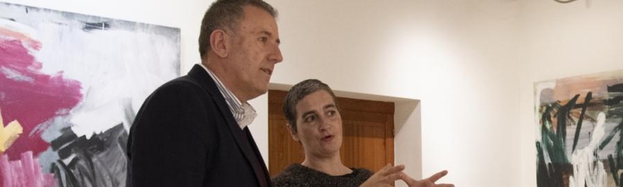Diputación acoge la exposición 'Canvas' de la artista Rebeca Plana